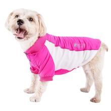 Pet Life ACTIVE Barko Pawlo Performance Dog Polo - Pink