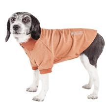 Pet Life ACTIVE Fur-Flexed Performance Dog Polo - Peach