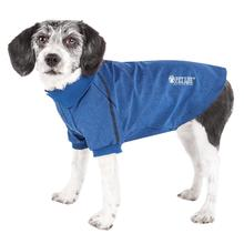 Pet Life ACTIVE 'Fur-Flexed' Performance Dog Polo - Navy