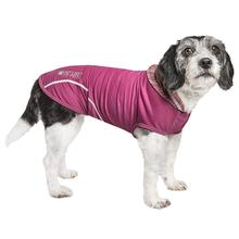 Pet Life ACTIVE 'Pull-Rover' Performance Sleeveless Dog Hoodie - Maroon