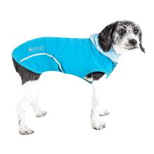 Pet Life ACTIVE Pull-Rover Performance Sleeveless Dog Hoodie - Electric Blue