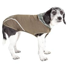 Pet Life ACTIVE Pull-Rover Performance Sleeveless Dog Hoodie - Olive Green