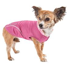 Pet Life ACTIVE Pull-Rover Performance Sleeveless Dog Hoodie - Pink