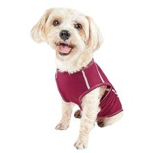 Pet Life ACTIVE Racerbark Performance Dog Tank - Maroon