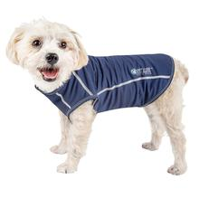 Pet Life ACTIVE Racerbark Performance Dog Tank - Navy
