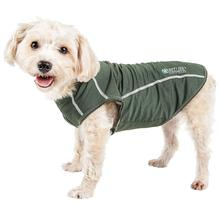 Pet Life ACTIVE Racerbark Performance Dog Tank - Olive Green