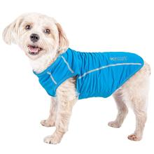 Pet Life ACTIVE 'Racerbark' Performance Dog Tank - Sky Blue