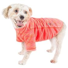 Pet Life ACTIVE 'Warf Speed' Performance Dog T-Shirt - Coral Heather