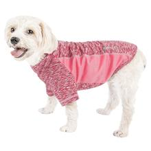 Pet Life ACTIVE 'Warf Speed' Performance Dog T-Shirt - Pink Heather