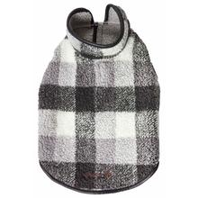 Pet Life Black Boxer Classical Plaid Insulated Dog Coat - Black