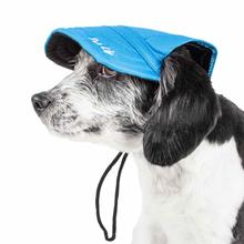 Pet Life 'Cap-tivating' UV Protectant Dog Hat Cap - Blue