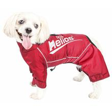 Pet Life Dog Helios Hurricanine Full Body Dog Coat w/ Heat Reflective Technology - Sporty Red