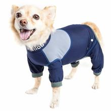 Pet Life Dog Helios Tail Runner Lightweight Dog Tracksuit - Blue