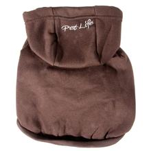 Pet Life Fashion Plush Dog Hoodie - Brown