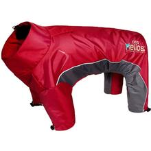 Pet Life Helios Blizzard Full-Bodied Reflective Dog Jacket - Cola Red