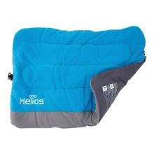 Pet Life Helios Combat-Terrain Cordura-Nyco Reversible Travel Camping Dog Bed - Blue
