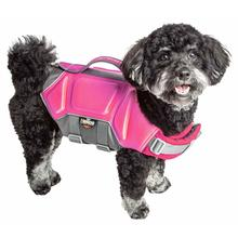 Pet Life Helios Tidal Guard Dog Life Jacket Vest - Pink