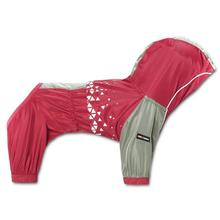 Pet Life Helios Vortex Full Bodied Waterproof Dog Jacket - Red