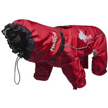 Pet Life Helios Weather-King Full Bodied Jacket - Red