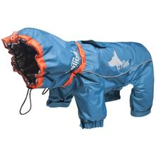 Pet Life Helios Weather-King Full Bodied Jacket - Blue
