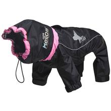 Pet Life Helios Weather-King Full Bodied Jacket - Black