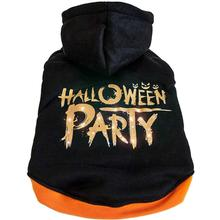 Pet Life LED Lighting Halloween Party Dog Hoodie - Black