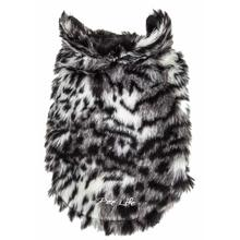 Pet Life Luxe Paw Dropping Tiger Mink Fur Dog Coat