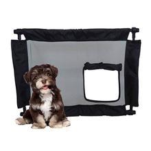Pet Life Porta Gate Collapsible Travel Pet Gate
