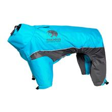 Pet Life Touchdog Quantum-Ice Full-Bodied Dog Jacket - Ocean Blue