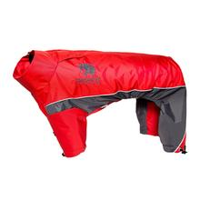 Pet Life Touchdog Quantum-Ice Full-Bodied Dog Jacket - Red
