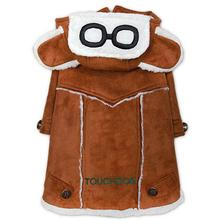 Pet Life Touchdog Tuskegee Winter Dog Coat - Brown
