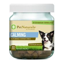 Pet Naturals Calming Chews for Medium & Large Dogs