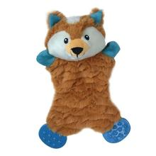 Pet Park Blvd Flatties Plush Toy - Fox