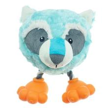 Pet Park Blvd Footies Dog Toy - Raccoon