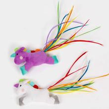 Pet Park Blvd Rainbow Unicorn Cat Toy
