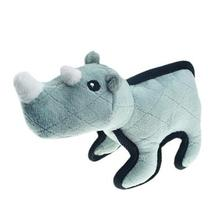 Pet Park Blvd Tuffimals Dog Toy - Rhino