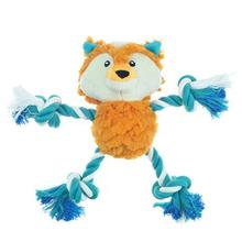 Pet Park Blvd Tuggers Dog Toy - Fox