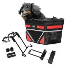 Pet-Pilot Bike Basket For Dogs & Cats - Cherry Red