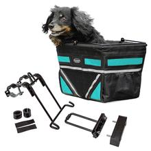 Pet-Pilot Bike Basket For Dogs & Cats - Turquoise