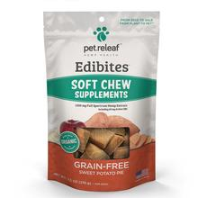 Pet Releaf Edibites Soft Chew Dog Treats - Sweet Potato Pie