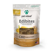 Pet Releaf Hemp Oil Edibites Dog Treats - Peanut Butter & Banana Hip & Joint