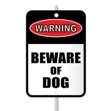 Beware of Dog Mini Garden Sign