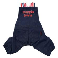 Pete Overall Dog Pants by Puppia - Navy
