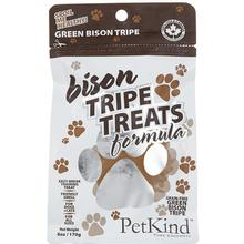 PetKind Grain-Free Green Bison Tripe Dog and Cat Treats