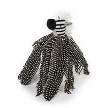 Petlinks Safari HyperNip Zippy Zebra Feathers Cat Toy