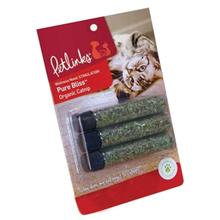 Petlinks Pure Bliss Organic Catnip - 3 Pack Tubes