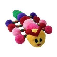 PetLou Caterpillar Plush Rope Dog Toy