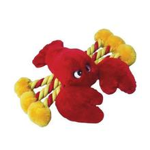 PetLou Lobster Plush Rope Dog Toy