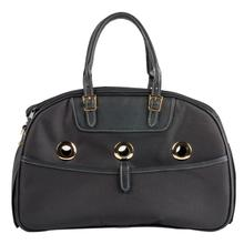 Petote Ariel Dog Carrier Handbag - Black