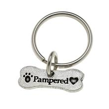 Pewter Pet Lover Keychain - Pampered